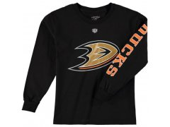Dětské tričko Old Time Hockey Two Hit Long Sleeve Anaheim