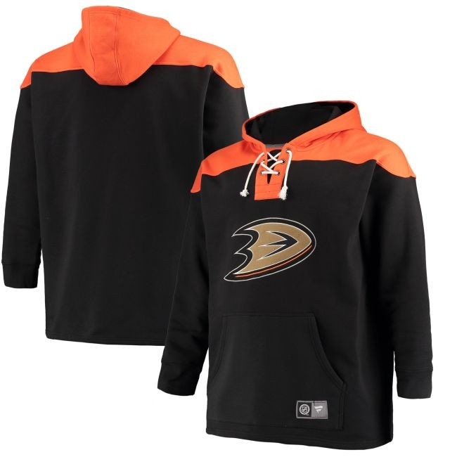 Mikina NHL Breakaway Lace Up Anaheim - Anaheim Ducks Mikiny
