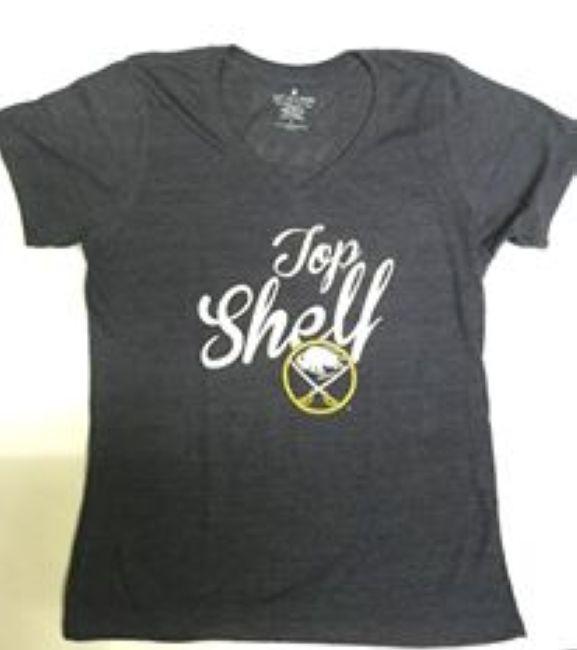 Tričko Shelf Tri-Blend - dámské Buffalo
