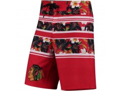 Plavky Floral Stripe Boardshorts Chicago