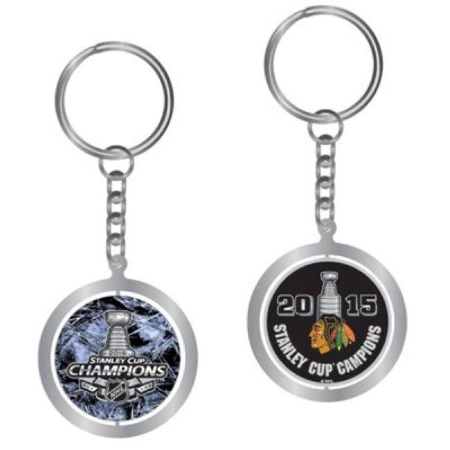Klíčenka 2015 Stanley Cup Champions - ring Chicago
