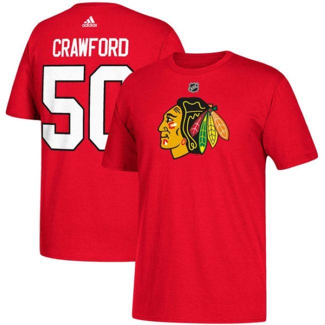 Tričko 50 Corey Crawford Chicago