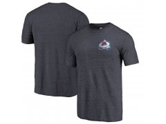 Tričko Primary Logo Left Chest Distressed Tri-Blend Colorado