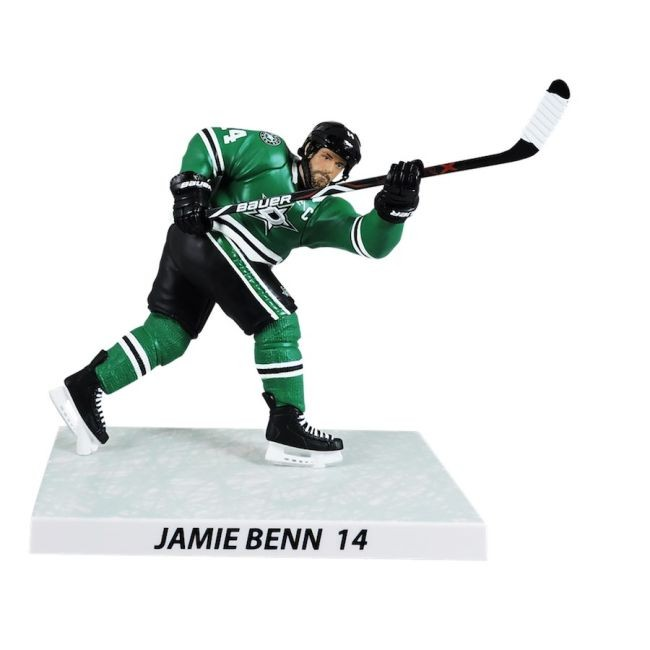 Figurka 14 Jamie Benn Imports Dragon Player Replica Dallas - Dallas Stars NHL Team Set