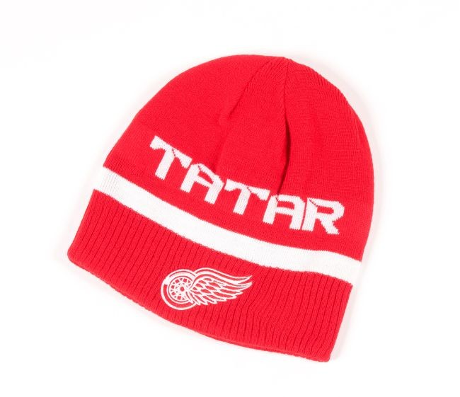 Kulich 21 Tomas Tatar Player Reversible Knit Distribuce: EU Detroit - Detroit Red Wings Čepice, kulichy