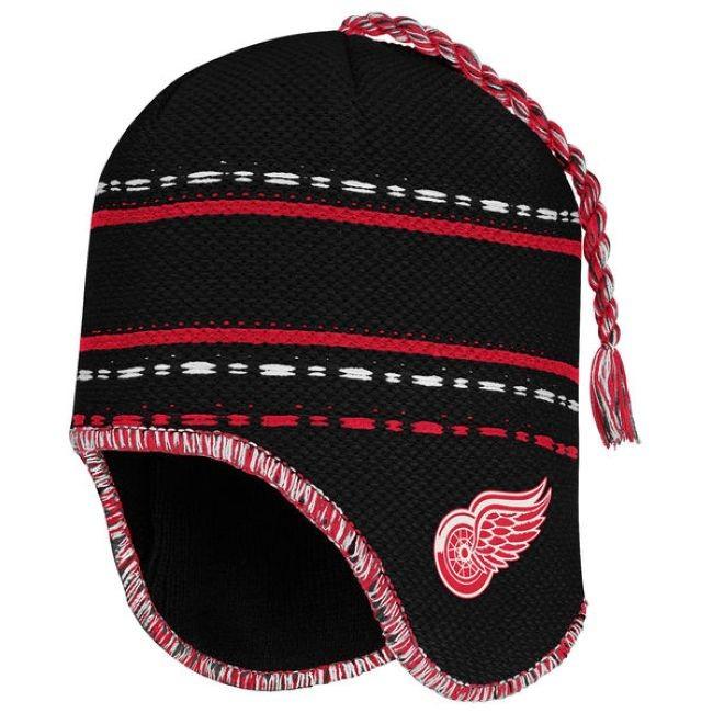 Zimní Čepice Face-Off Peruvian Knit Beanie Detroit