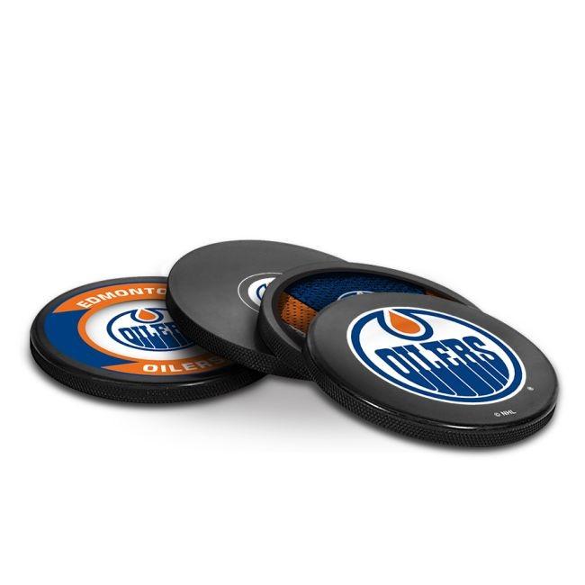 Puk NHL Coaster Edmonton