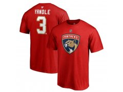 Tričko 3 Keith Yandle Stack Logo Name & Number Florida