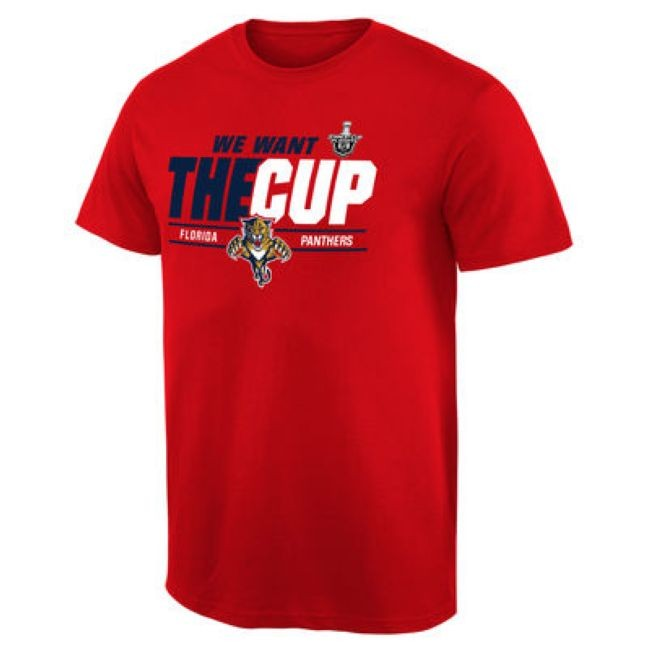 Tričko 2016 Stanley Cup Playoffs We Want The Cup Florida