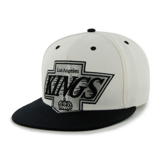 Kšiltovka Jumbo Logo Two Tone Snapback LA Kings