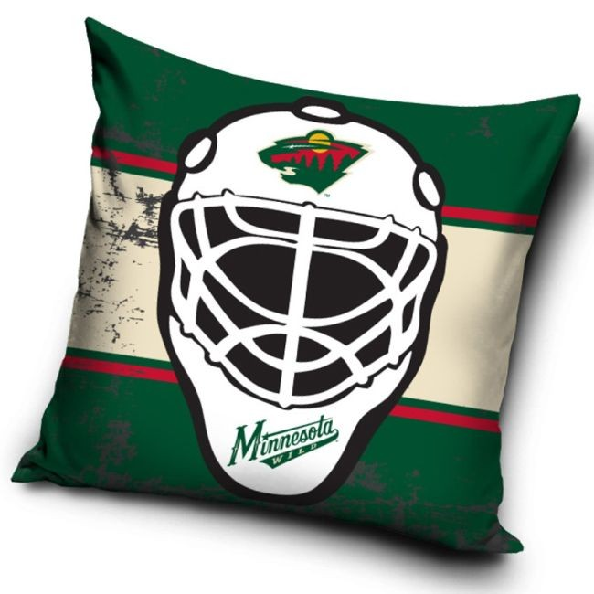 Polštářek NHL Maska Minnesota