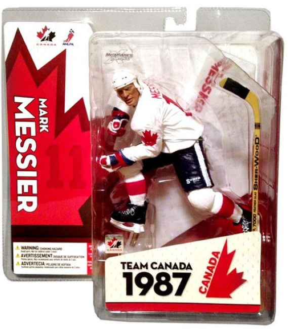 Figurka Mc Farlane Mark Messier Team Canada 1987