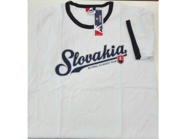 Tričko SLOVAKIA Ice Hockey Team White