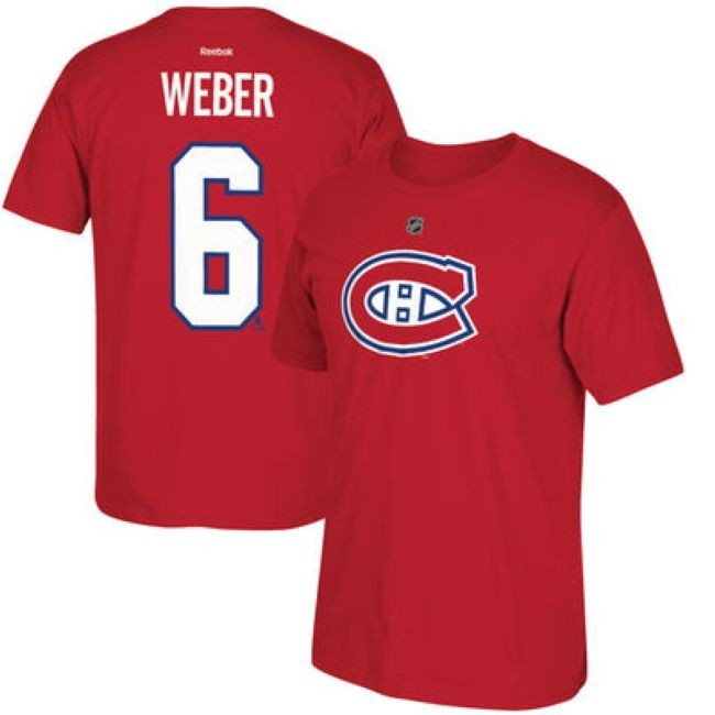 Tričko 6 Shea Weber Montreal
