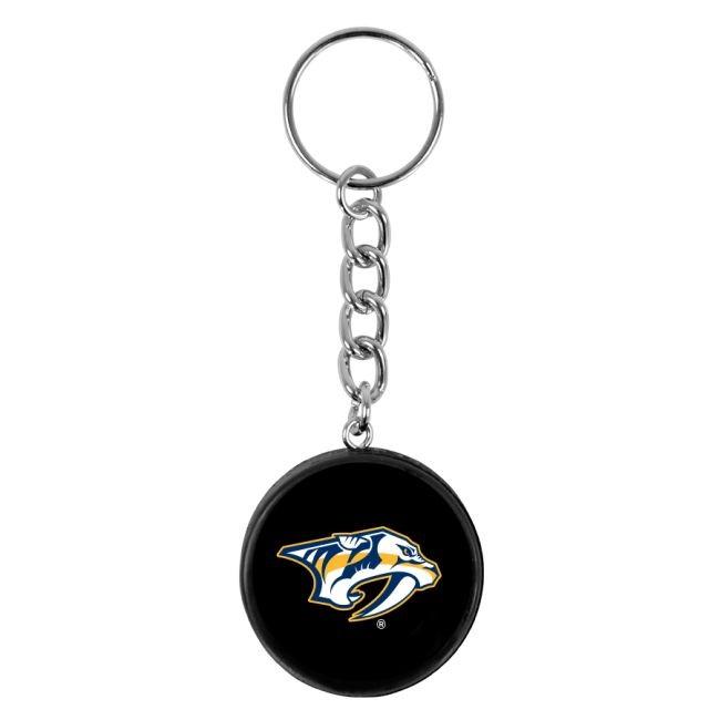 NHL přívěšek na klíče minipuk Nashville