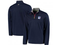 Mikina Center Ice Quarter-Zip Baselayer NYR