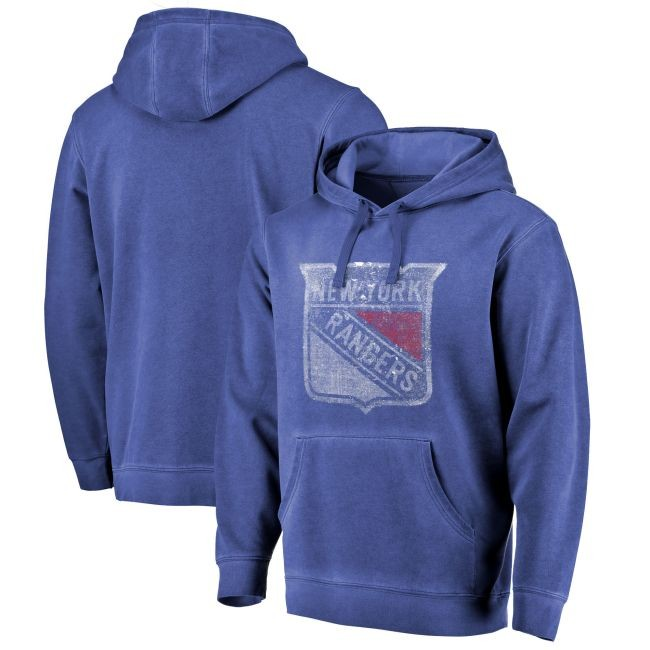 Mikina Shadow Washed Logo Pullover Hoodie NYR
