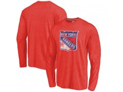 Tričko Primary Logo Tri-Blend Long Sleeve NYR