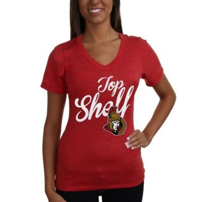 Tričko Shelf Tri-Blend - dámské Ottawa