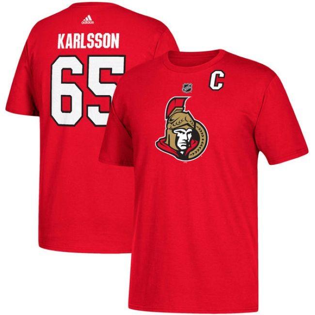 Tričko 65 Erik Karlsson Ottawa