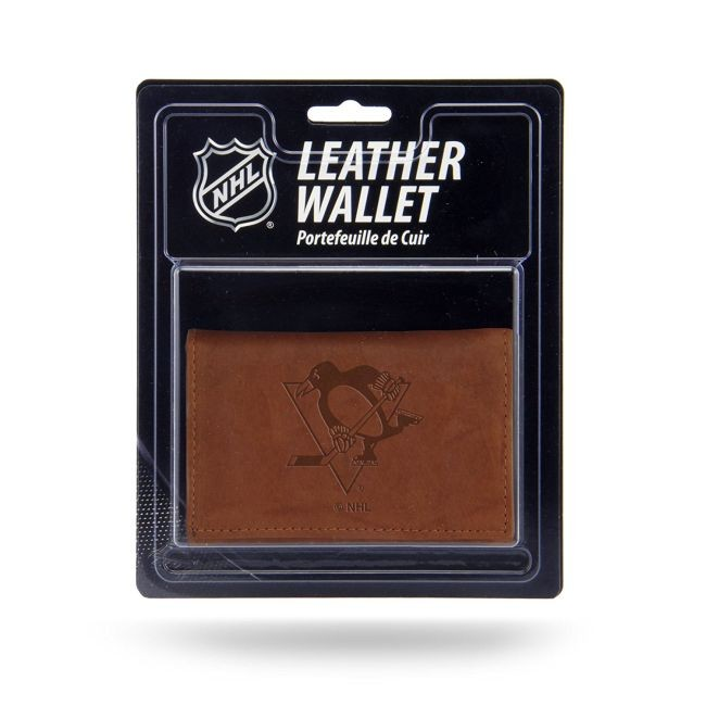 Kožená peněženka Embossed Trifold Pittsburgh