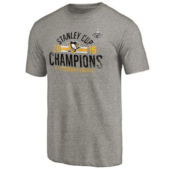 Tričko 2016 Stanley Cup Champions Winger Tri-Blend Pittsburgh