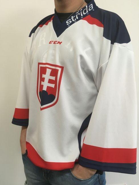 Hokejový dres WHITE Slovakia