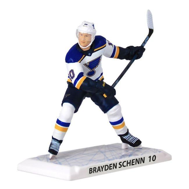 Figurka 10 Brayden Schenn Imports Dragon Player Replica St. Louis