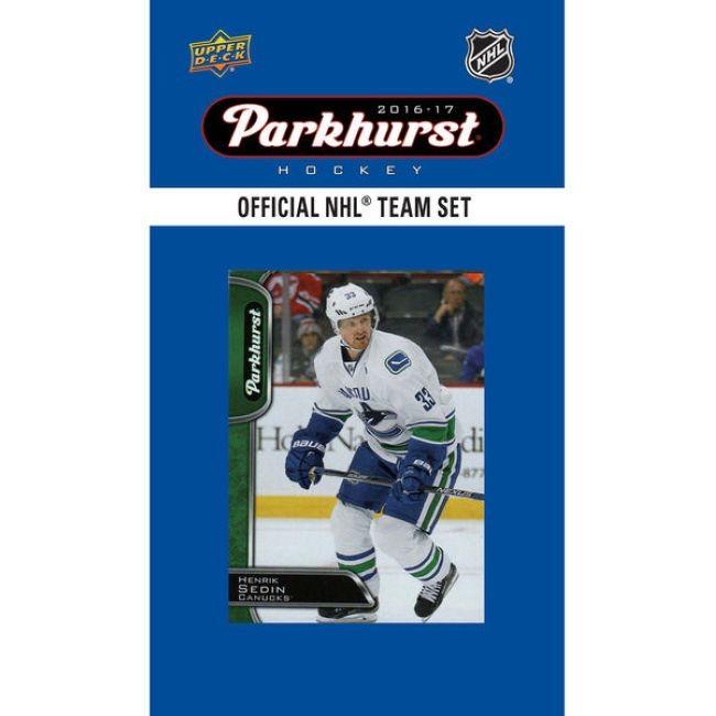 Hokejové karty NHL 2016-17 Upper Deck Parkhurst Team Card Set Vancouver