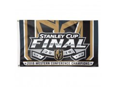 Vlajka 2018 Western Conference Champions On-Ice Flag Vegas