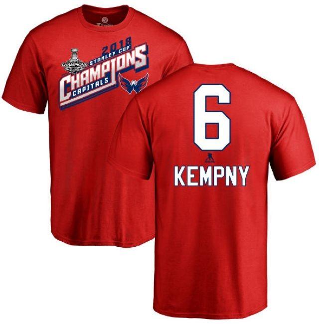 Tričko 6 Michal Kempný 2018 Stanley Cup Champions Washington
