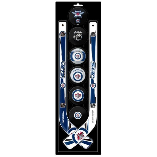 Plastová Minihokejka Six Pack Winnipeg